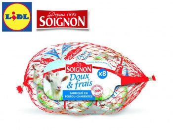 Lidl France signe un nouvel accord tripartite lait avec Soignon