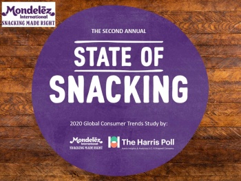 Mondelez dévoile son rapport 'State of Snacking'