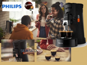 Philips présente sa nouvelle machine à café SENSEO® Select